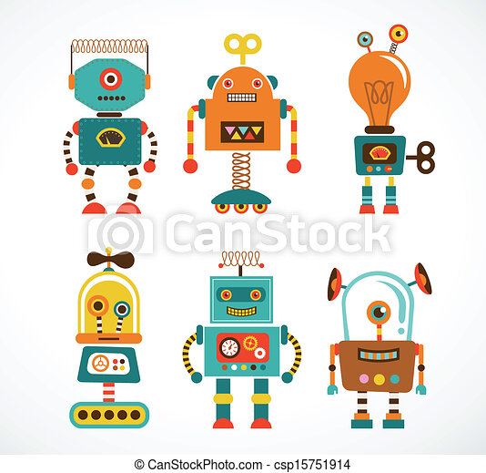 Robot Illustrations and Stock Art. 53,211 Robot illustration and ...