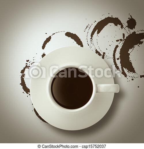 Logo Tasse De Caf Ef Bf Bd Style