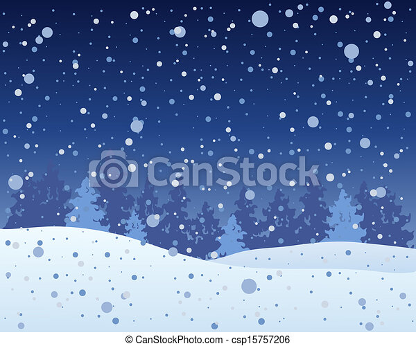 christmas night sky clipart - photo #26