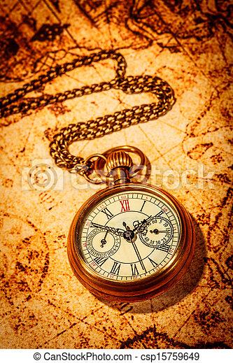 Antique pocket watch. - csp15759649