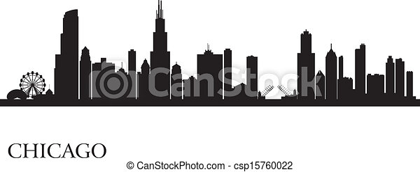 Chicago Skyline Drawings Chicago City Skyline