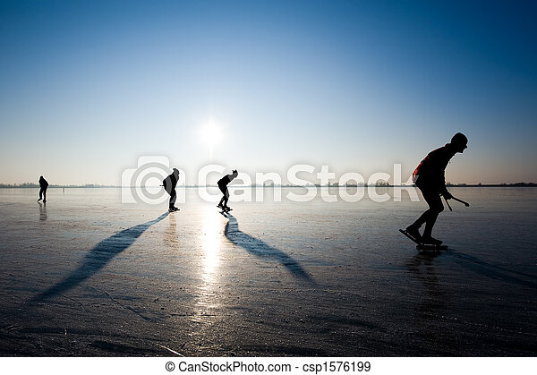 ice skating - csp1576199