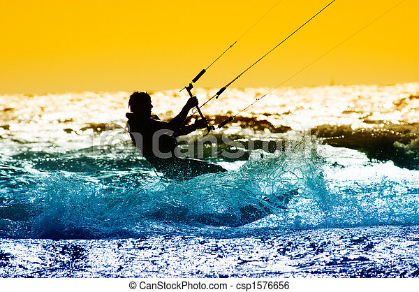 kite surfing - csp1576656