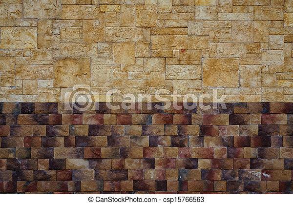 image de texture pierre mur deux couleurs csp15766563 recherchez des photographies des. Black Bedroom Furniture Sets. Home Design Ideas