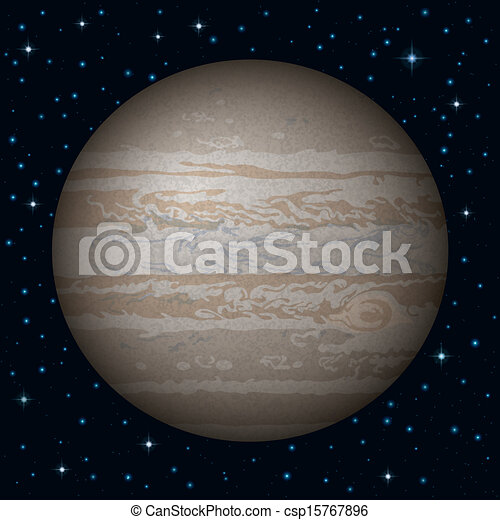 jupiter planet line drawings - photo #16