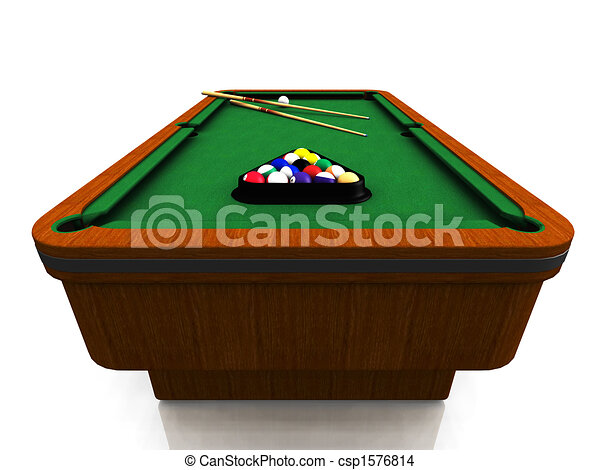 Billiard table - csp1576814