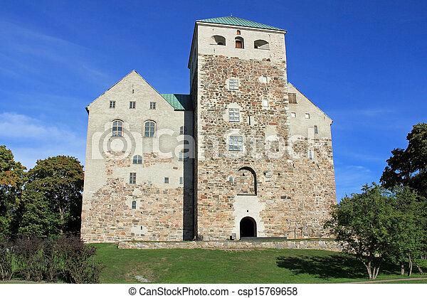 Historic Castle of Turku, Finland - csp15769658