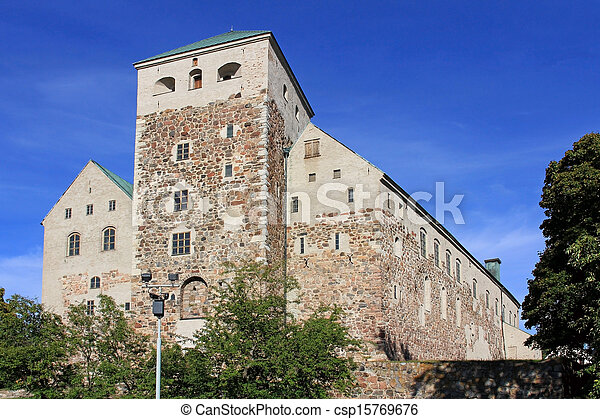 Historic Castle of Turku, Finland - csp15769676