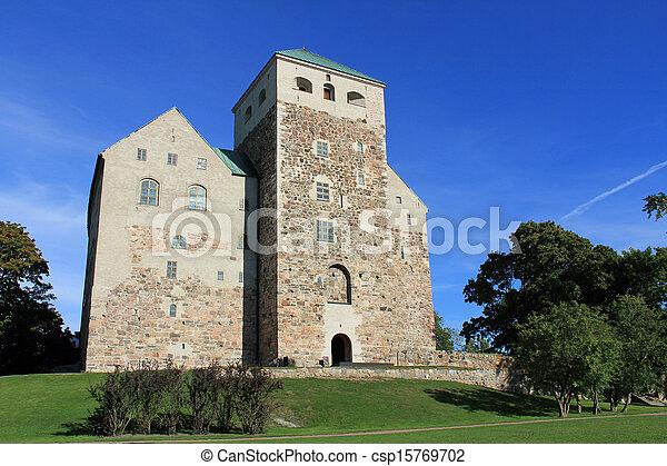 Historic Castle of Turku, Finland - csp15769702