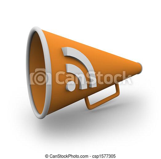 RSS Bullhorn 2 - csp1577305