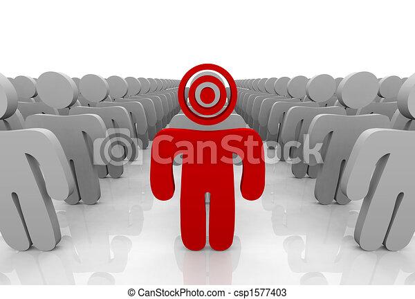 Targeting Your Customer - csp1577403