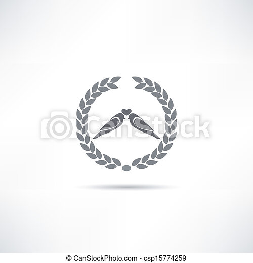 bird icon - csp15774259
