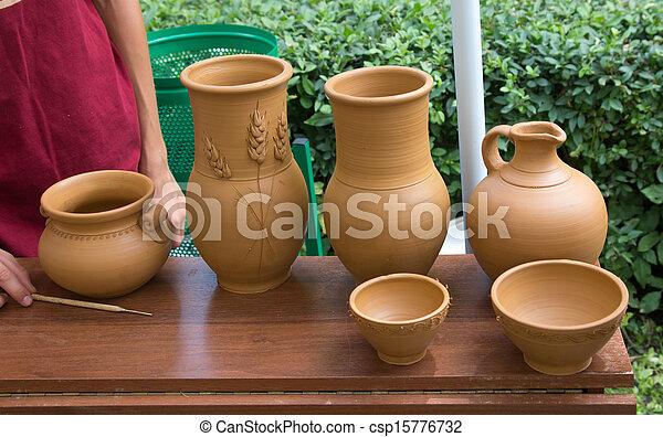 pottery - csp15776732