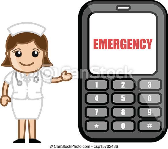 Vector Clip Art of cartoon medical emergency csp19391711 - Search ...