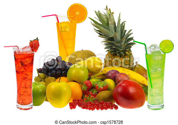 fresh fruit juice - csp1578728