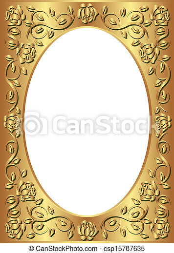 golden frame - csp15787635