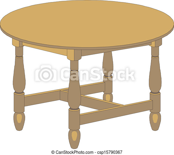 Round Table Clip Art Clipart Free Download