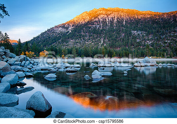 Lake Tahoe - csp15795586