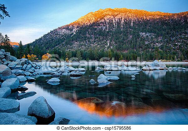 Lake Tahoe - csp15795586