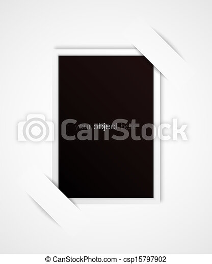 photo frame for your object  - csp15797902