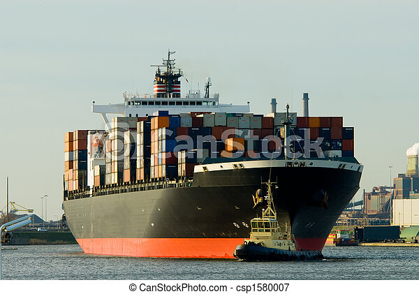 huge container ship - csp1580007