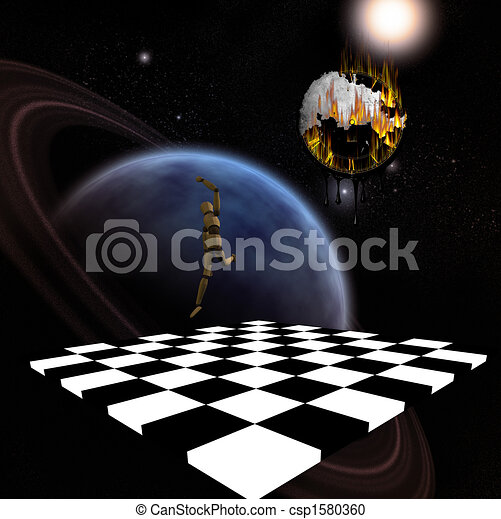 Surreal Space Drawings Surreal Composition Planet