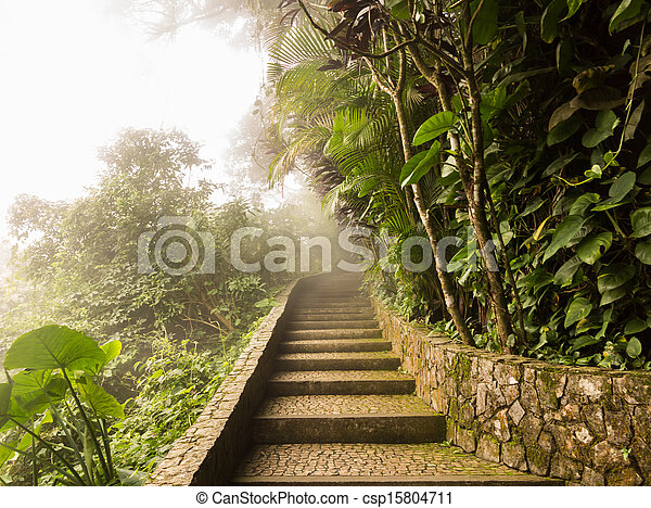 Summit of Sugarloaf Mountain Rio de Janeiro Brazil - csp15804711