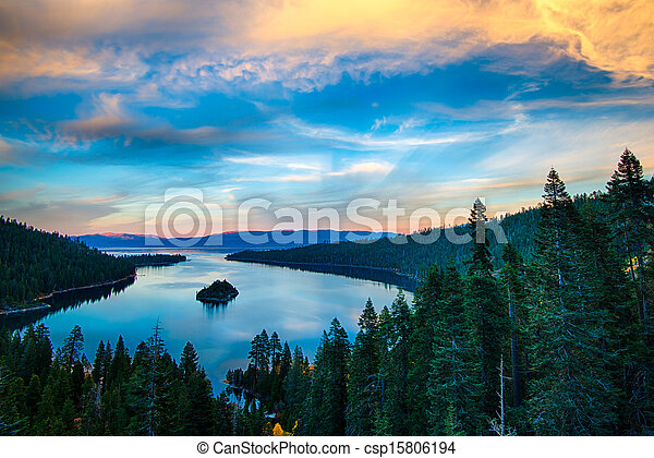 Lake Tahoe - csp15806194