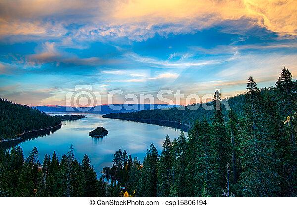 Lake Tahoe - csp15806194