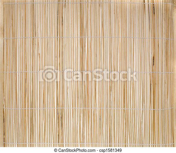 竹子, 地方蓆子 - csp1581349