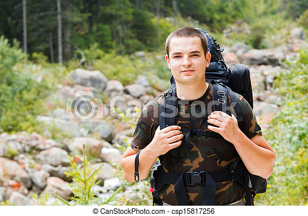 Ready for Hiking Mountains - csp15817256