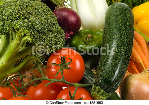 vegetables background - csp1581963
