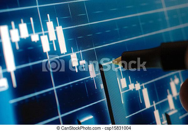 分析, 圖表, 市場, 股票 - csp15831004