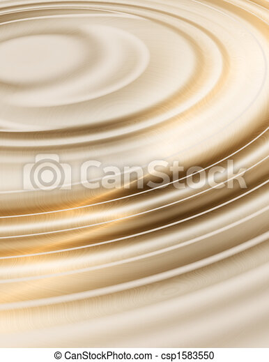golden liquid ripples - csp1583550