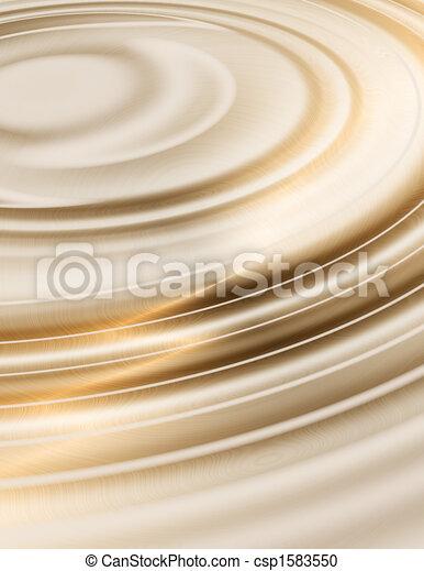 golden liquid ripples  - csp1583550