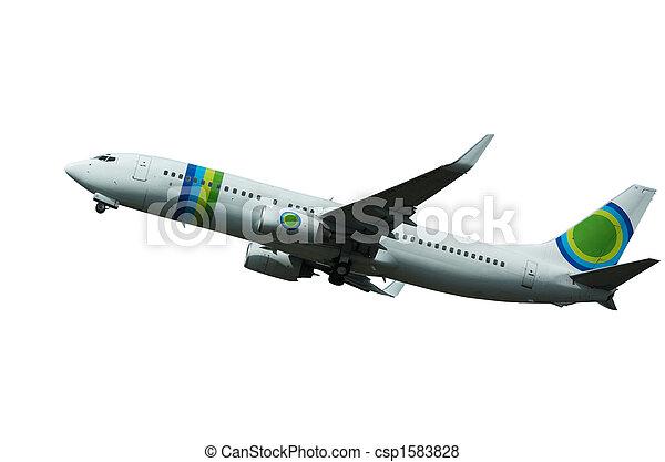 aircraft on takeoff - csp1583828