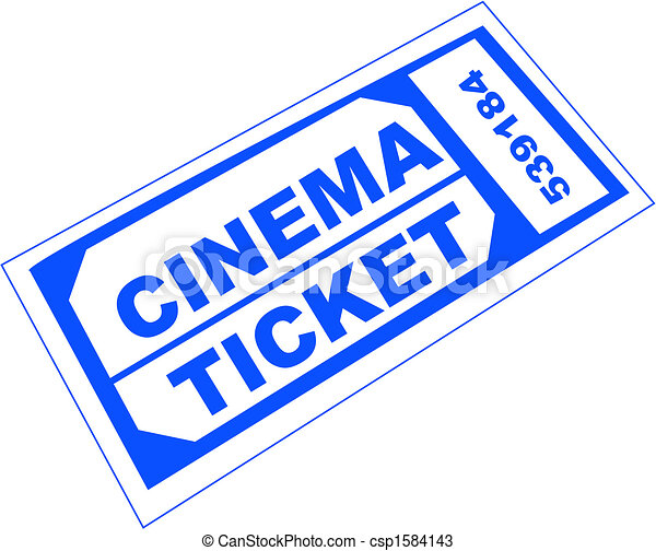 cinema ticket - csp1584143