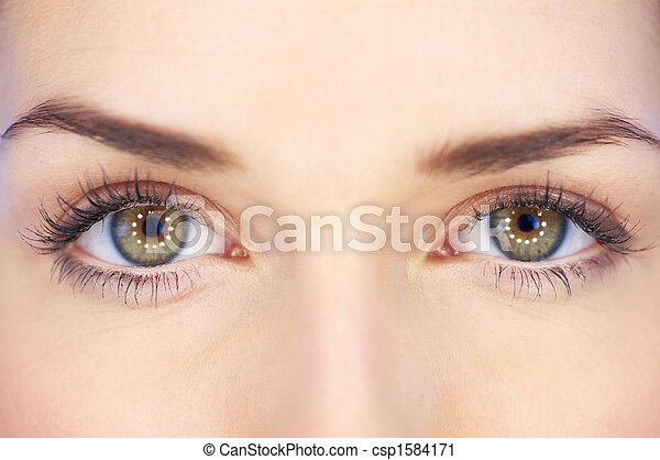 Green Eyes - csp1584171