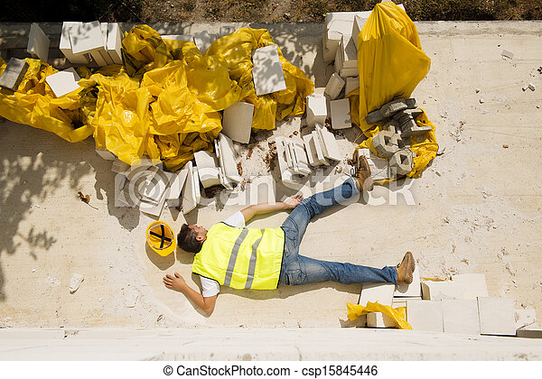 Construction accident - csp15845446