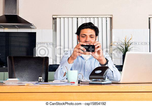 Mobile Banking - csp15854192