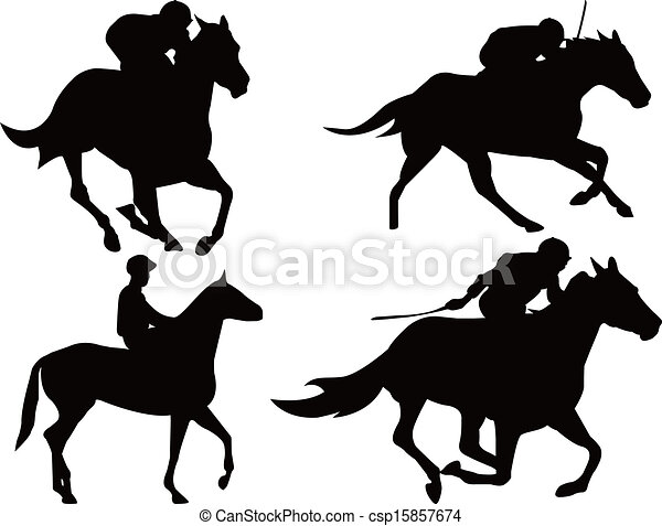 Racehorse Stock Illustration Images. 2,057 Racehorse illustrations ...