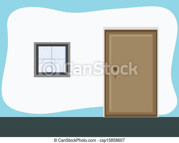 room doors vector art - photo #3