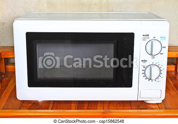 photo de micro ondes four table cuisine csp15862548 recherchez des images des. Black Bedroom Furniture Sets. Home Design Ideas