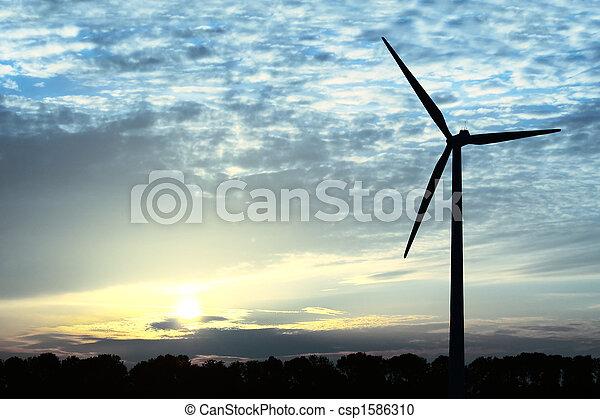 blaues, Energie - csp1586310