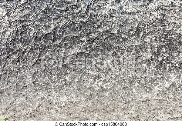 High Resolution Concrete Grunge Weathered Wall - csp15864083