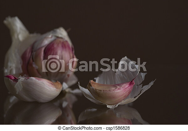 Garlic In Pieces - csp1586828