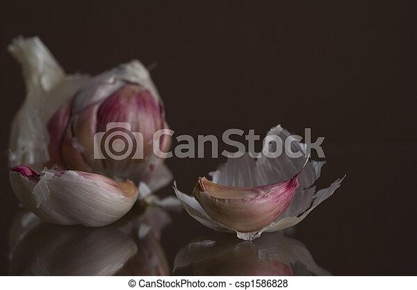 Garlic In Pieces - csp1586828
