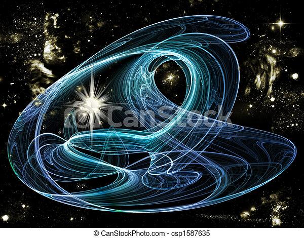 nebula universe and star - csp1587635