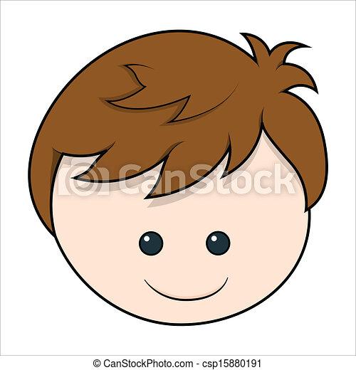 Caricatura perfil cara Stock fotos e imágenes. 59 Caricatura ...