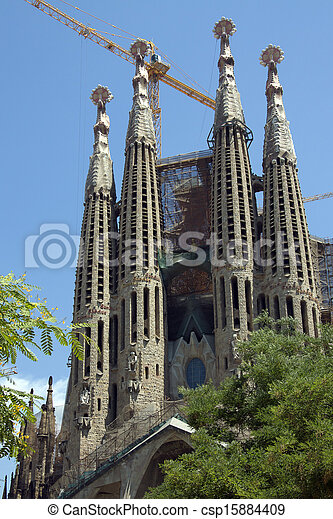 Segrada Familia - Barcelona - Spain